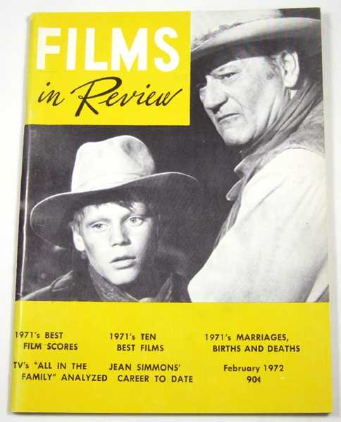Image for Films in Review (February, 1972)