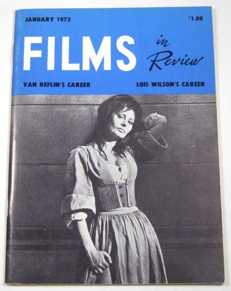 Image for Films in Review (January, 1973)