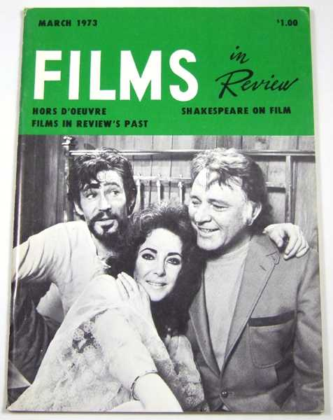 Image for Films in Review (March, 1973)