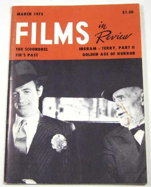 Image for Films in Review (March, 1975)