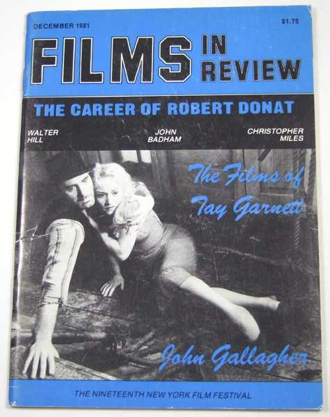 Image for Films in Review (December, 1981)