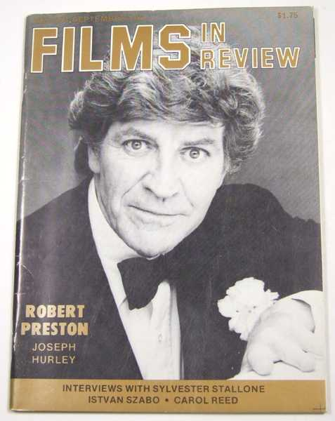 Image for Films in Review (August-September, 1982)