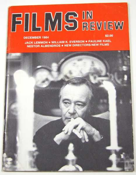 Image for Films in Review (December, 1984)