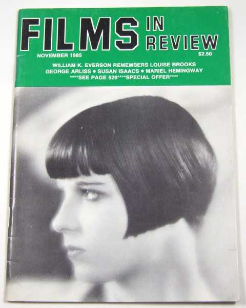 Image for Films in Review (November, 1985)