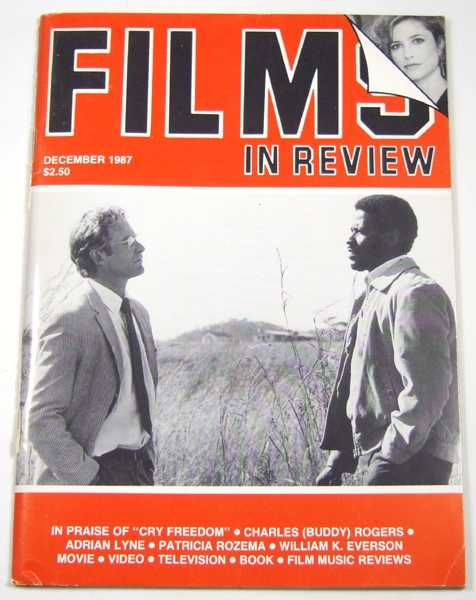 Image for Films in Review (December, 1987)