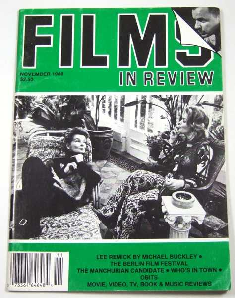 Image for Films in Review (November, 1988)