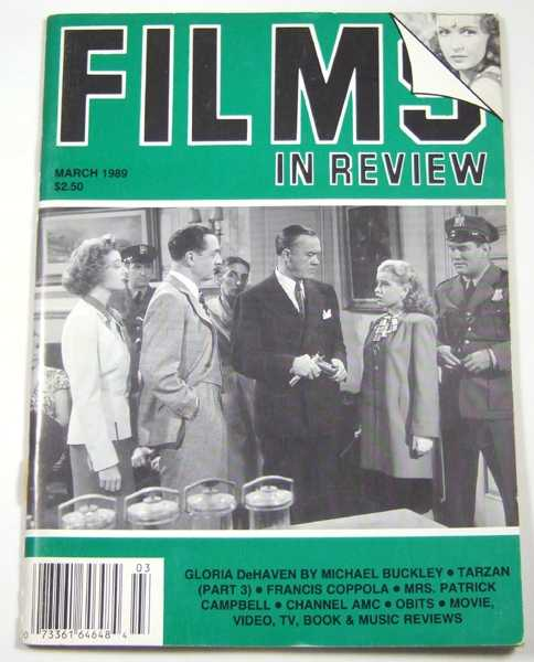 Image for Films in Review (March, 1989)