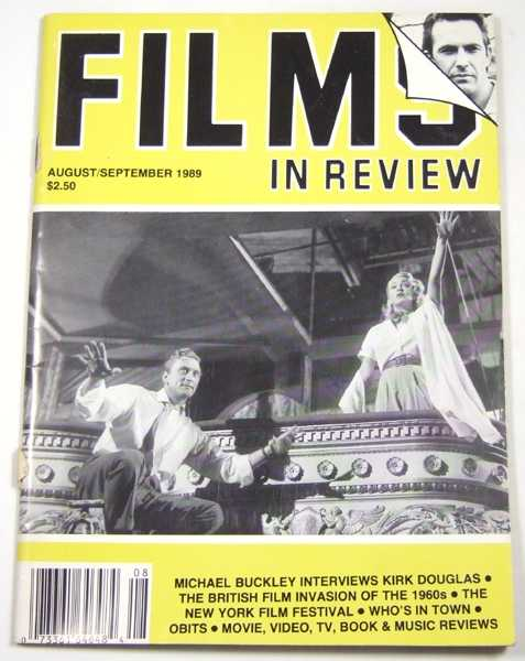 Image for Films in Review (August-September, 1989)