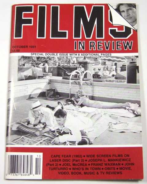Image for Films in Review (October, 1991)
