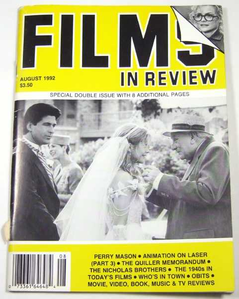 Image for Films in Review (August, 1992)