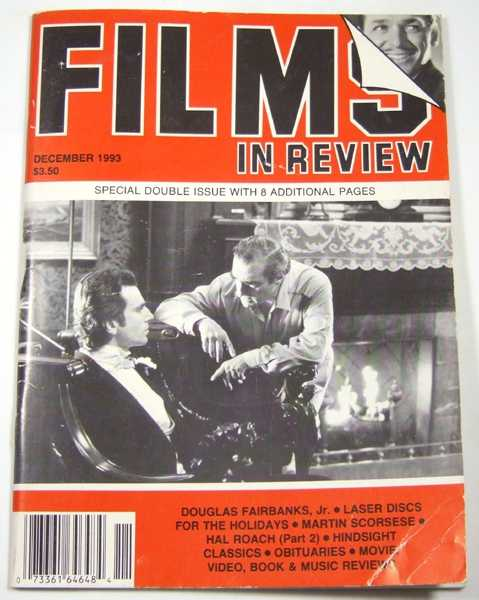 Image for Films in Review (December, 1993)