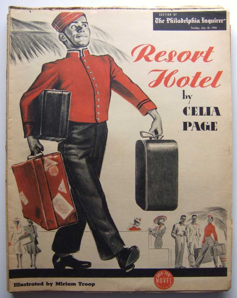 Resort Hotel (Gold Seal Novel, presented by the Philadelphia Inquirer, Sunday, July 18th, 1943), Page, Celia