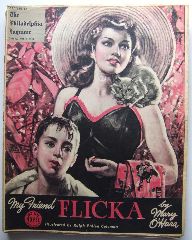 My Friend Flicka (Gold Seal Novel, presented by the Philadelphia Inquirer, Sunday, June 6th, 1943), O'Hara, Mary