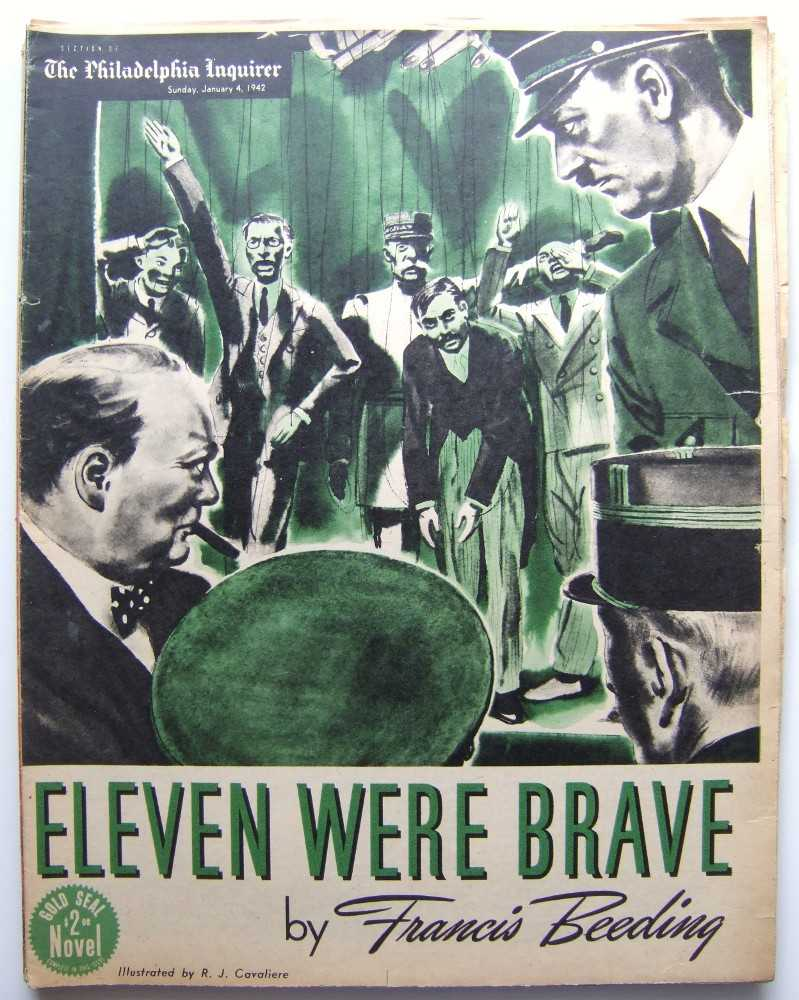 Eleven Were Brave (Gold Seal Novel, presented by the Philadelphia Inquirer, Sunday, January 4, 1942), Beeding, Francis