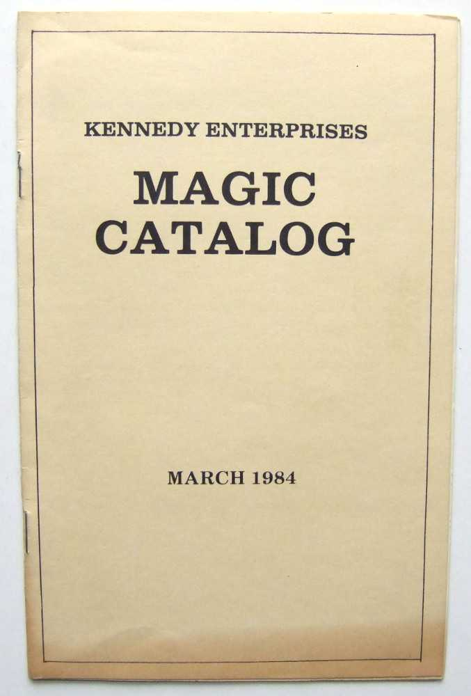 Kennedy Enterprises Magic Catalog, Kennedy, John