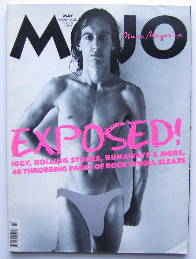 Mojo Music Magazine #78: Exposed (May, 2000), Phil Alexander (ed); Iggy Pop