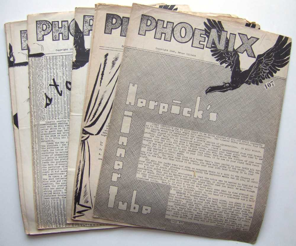 Phoenix (19 Issues, 1946-1954), Elliott, Bruce