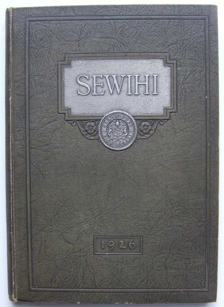 The Sewihi: Sewickley High School Yearbook, 1926 (Sewickley, Pennslyvania), Editorial Staff