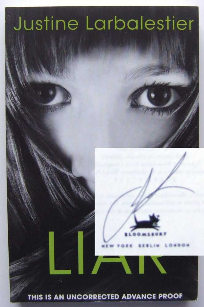 Liar [SIGNED, ARC], Larbalestier, Justine