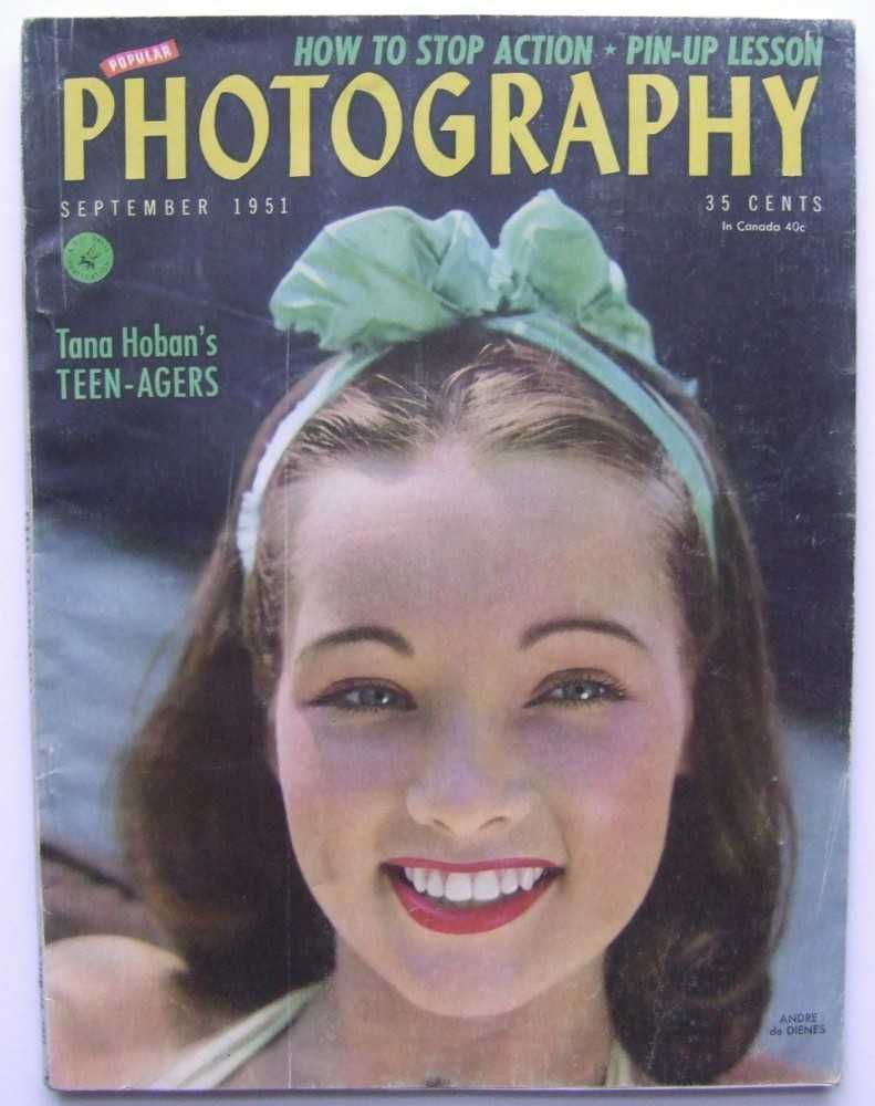 Popular Photography (September, 1951), Frank E. Fenner; Bernard of Hollywood