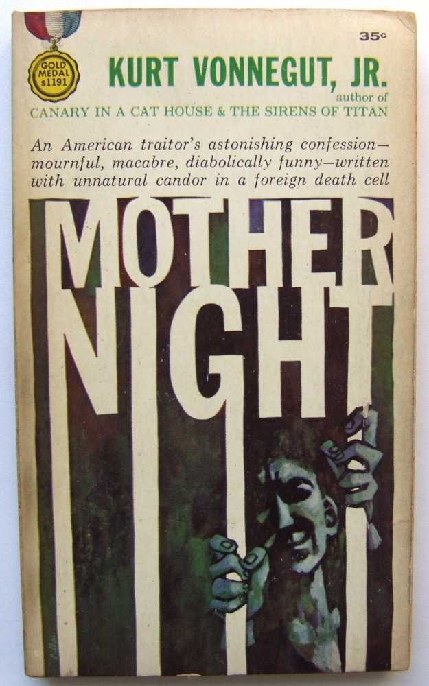 Mother Night, Vonnegut, Kurt