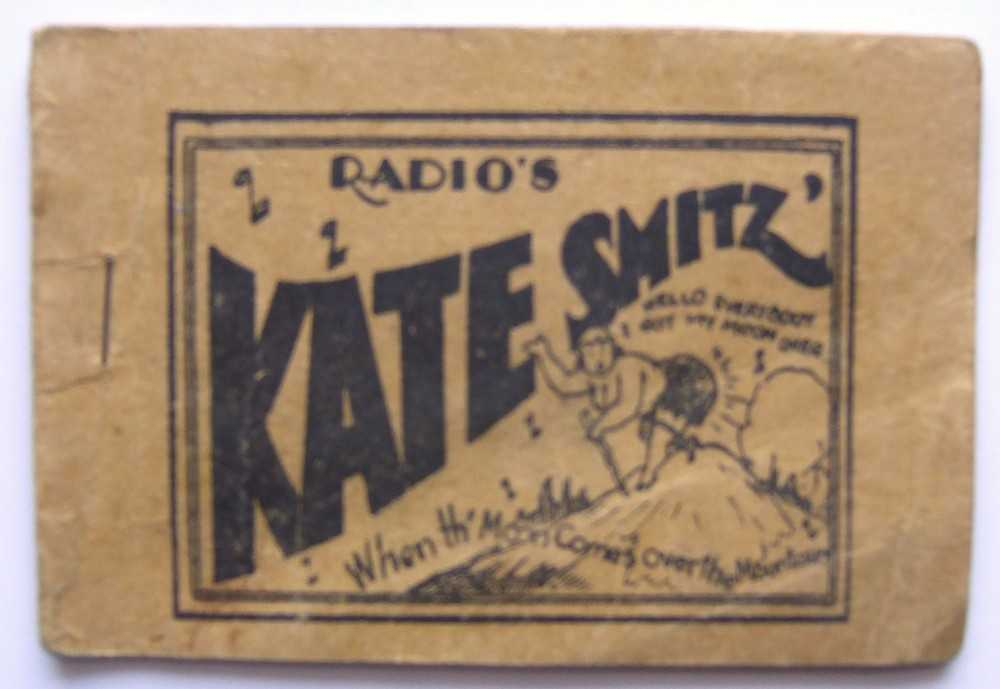 "Radio's Kate Smitz (Kate Smith) ""When the Moon Comes Over the Mountain"" (Tijuana Bible, 8-Pager), Anonymous; Based on Kate Smith"