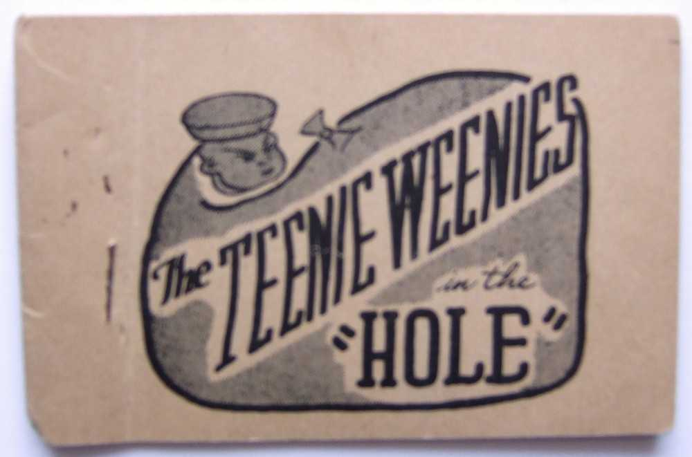 "The Teenie Weenies in the ""Hole"" (Tijuana Bible, 8-Pager), Anonymous; Based on characters created by William Donahey"