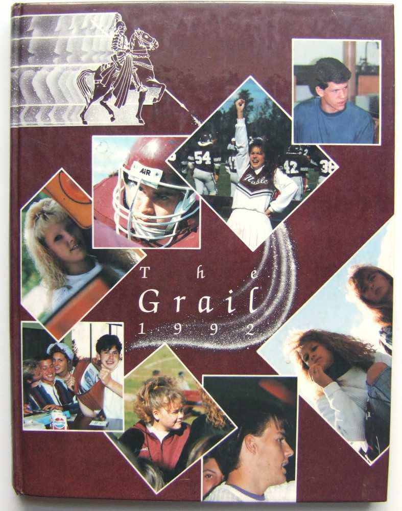 The Grail: Noble High School (Berwicke, Maine 1992), Editorial Staff