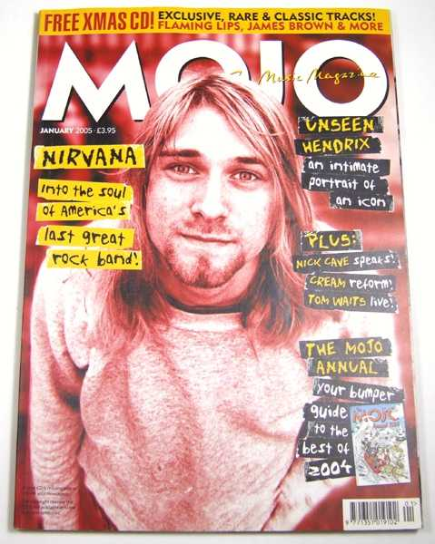 Mojo Music Magazine #134 (January, 2005), Phil Alexander (ed); Nick Cave; Kurt Cobain; Donovan