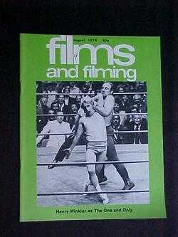 Films and Filming (August, 1978, Volume 24, #11), Editors; Henry Winkler; Paul Mazursky; John Williams