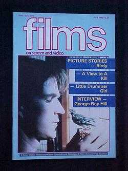 Films on Screen and Video (June, 1985, Volume 5, #6), Bean (editor), Robin