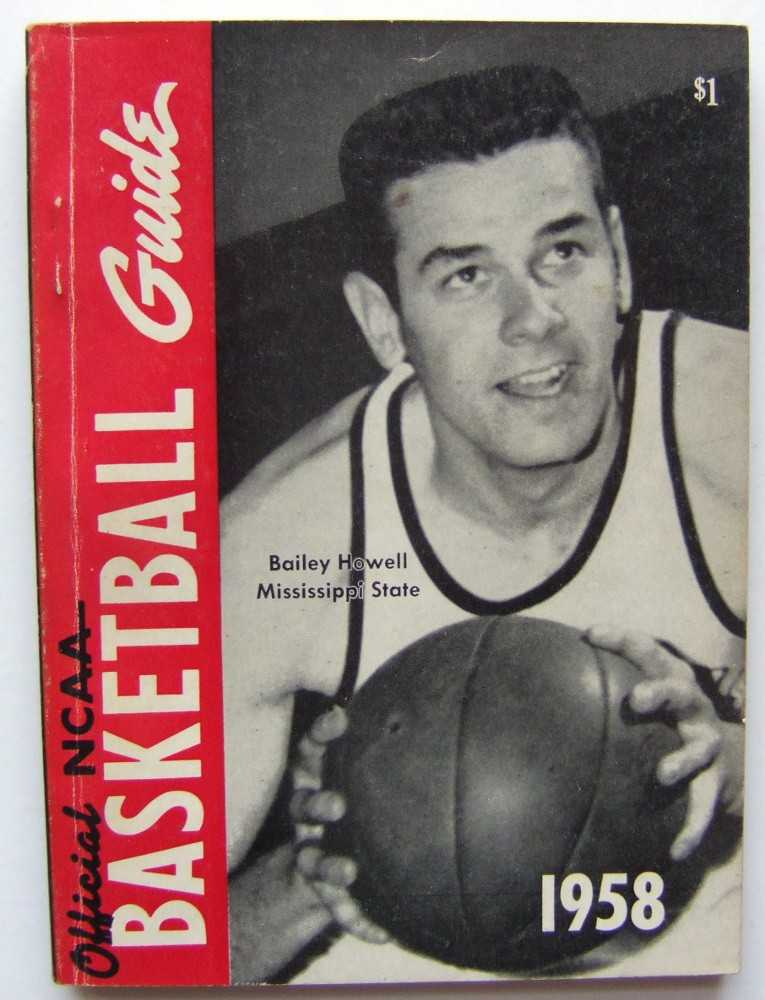 The Official National Basketball Committee Basketball Guide, Including the Official Rules, 1958