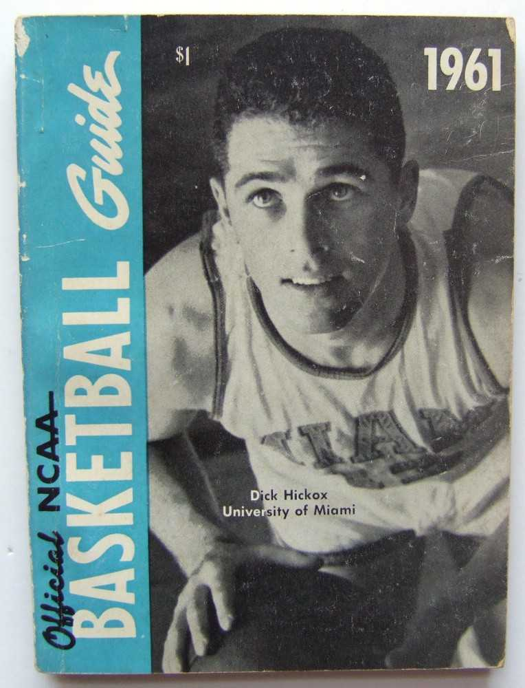 The Official National Basketball Committee Basketball Guide, Including the Official Rules, 1961
