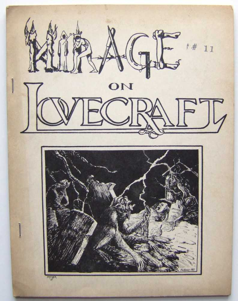Mirage on Lovecraft: A Literary View (The Anthem Series) (fantasy, horror 'zine), Jack L. Chalker and Mark Owings (editors / publishers); H.P. Lovecraft; August Derleth; et al
