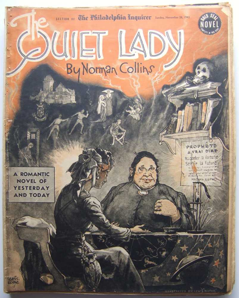 The Quiet Lady (Gold Seal Novel, presented by the Philadelphia Inquirer, Sunday, November 28, 1943), Collins, Norman
