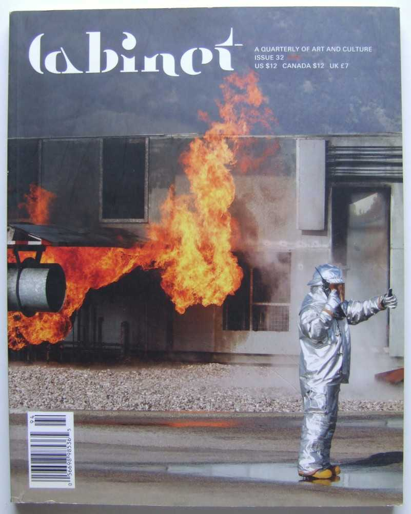 Image for Cabinet Magazine: A Quarterly Magazine of Art and Culture, Issue #32: Fire (Winter, 2008-2009)