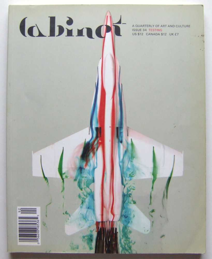 Image for Cabinet Magazine: A Quarterly Magazine of Art and Culture, Issue #34: Testing (Summer, 2009)