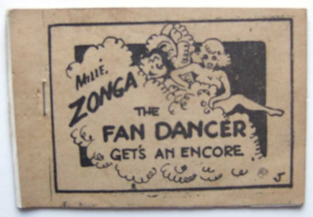 Millé Zonga The Fan Dancer Gets an Encore (Tijuana Bible, 8-Pager), Anonymous