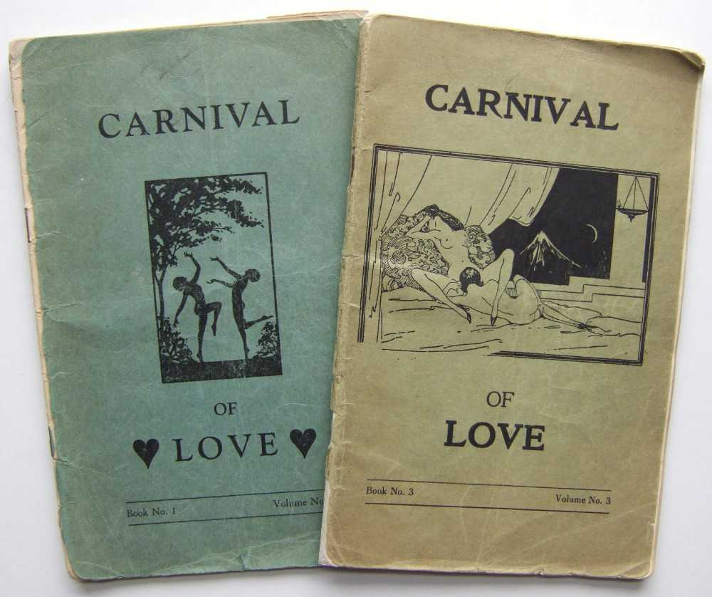Carnival of Love, 2 Volumes (Book No. 1, Volume No. 1 & Book No. 3, Volume No. 3), Anonymous