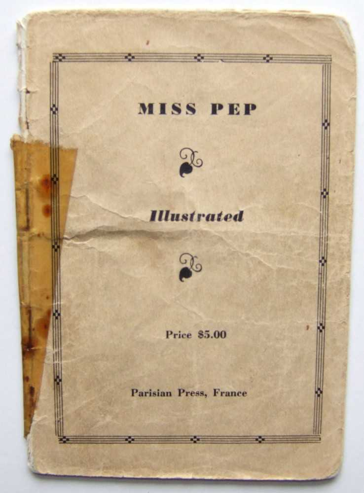 Miss Pep, Illustrated, Anonymous