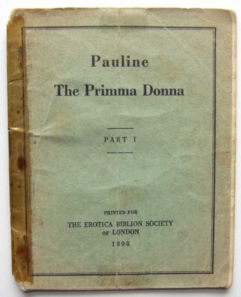 Pauline The Prima Donna, Part 1, Anonymous