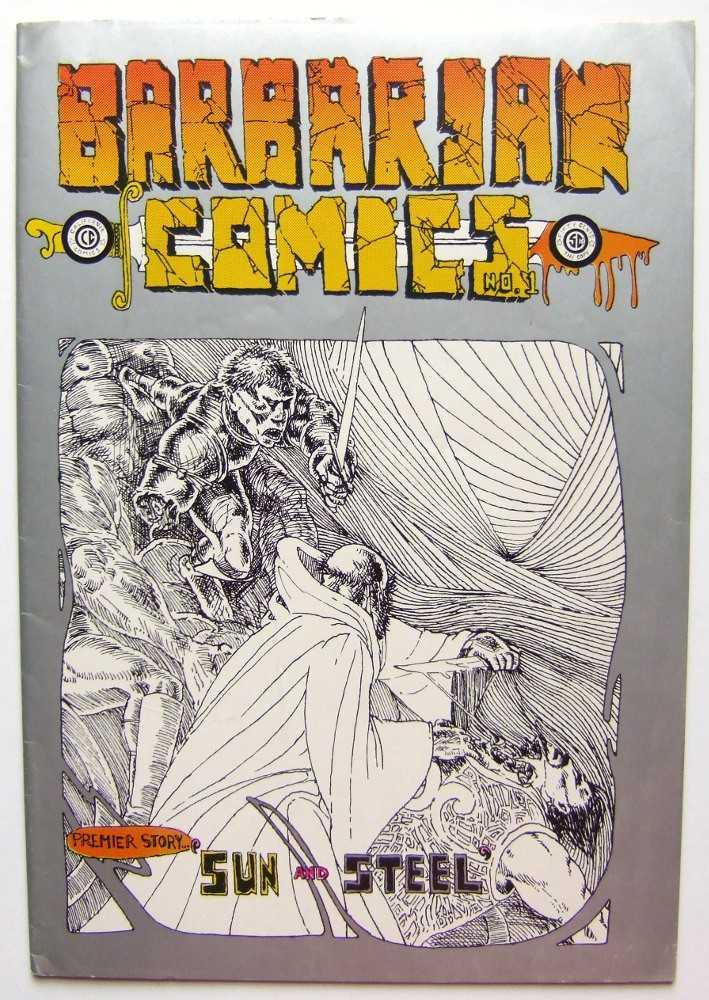 Barbarian Comics #1