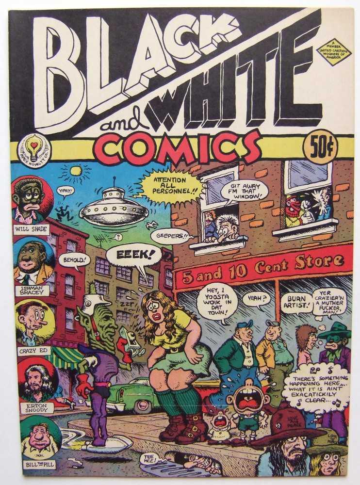 Black and White Comics, Crumb, Robert