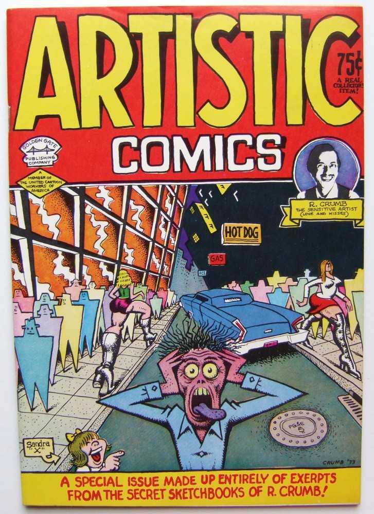Artistic Comics, Crumb, Robert