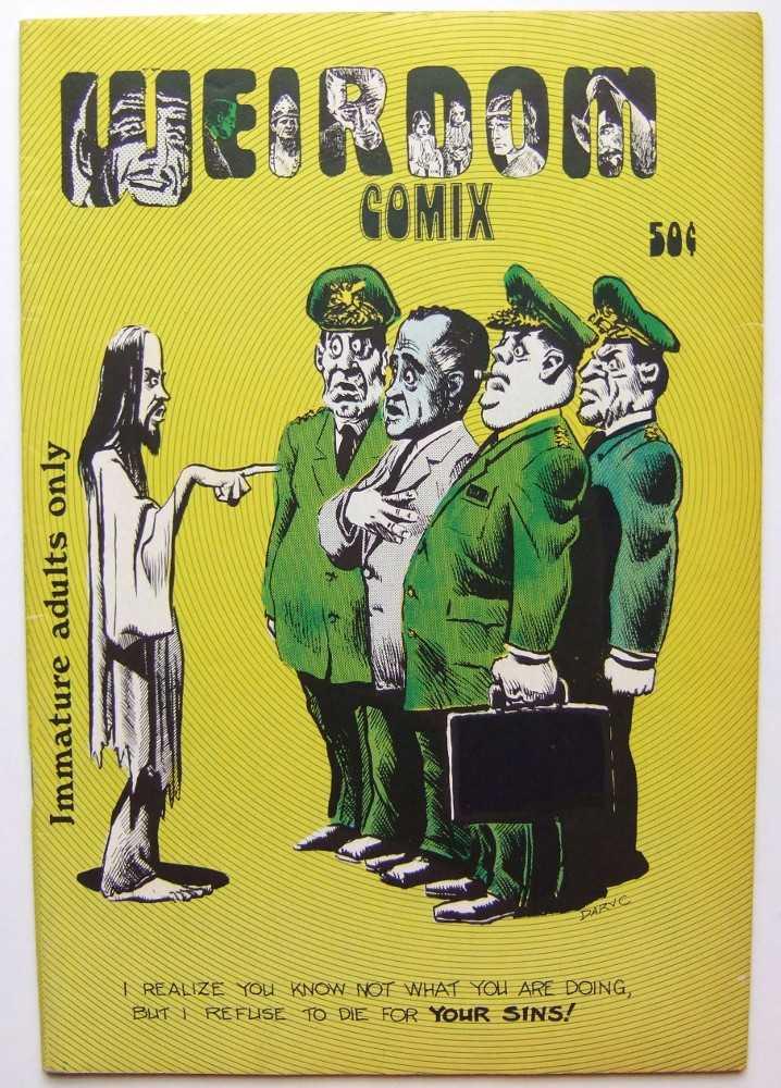 Weirdom Comix #14, Dennis A. Cunningham (editor); Richard Corben; et al