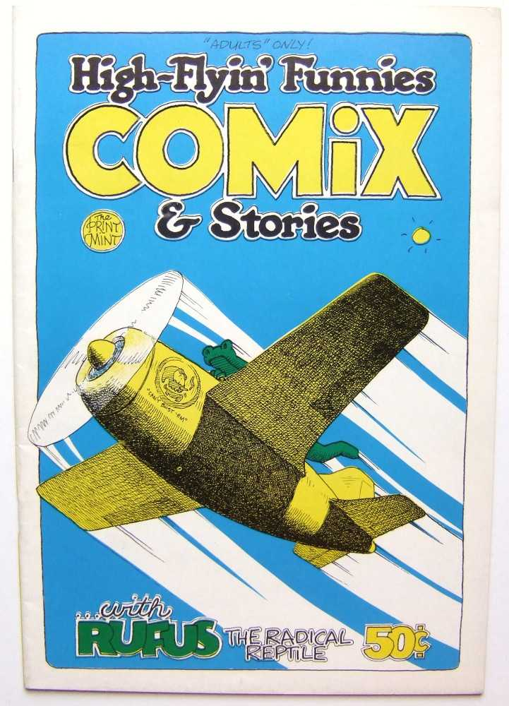 High-Flyin' Funnies Comix & Stories, Bill Crawford; Ed Askew