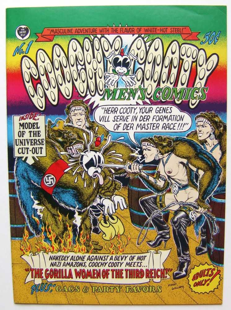 Coochy Cooty Men's Comics #1, Williams, Robert