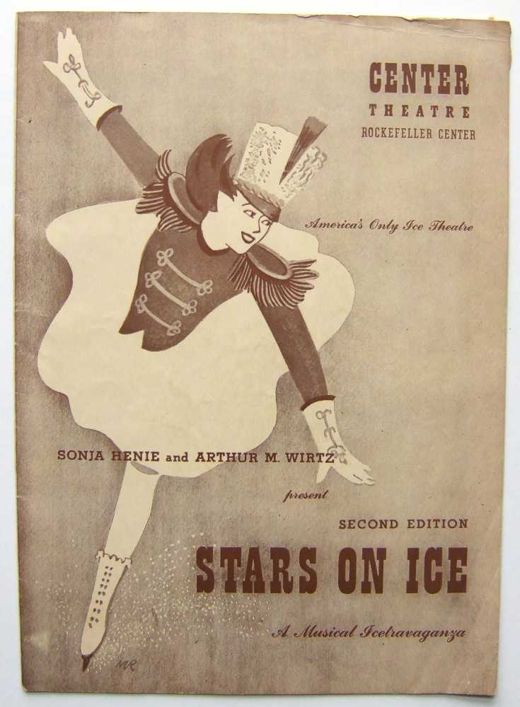 Second Edition, Stars on Ice with Sonja Henie: Center Theatre, Rockefeller Center, 1943, Henie, Sonja