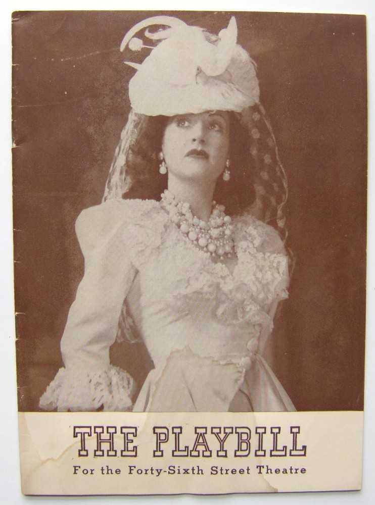 Panama Hattie: Playbill for the Forty-Sixth (46th) Street Theatre, 1941, Ethel Merman; Arthur Treacher