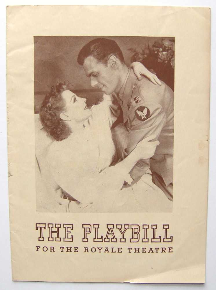 A New Life: Playbill for the Royale Theatre, 1943, Betty Field; Ann Driscoll; Elmer Rice
